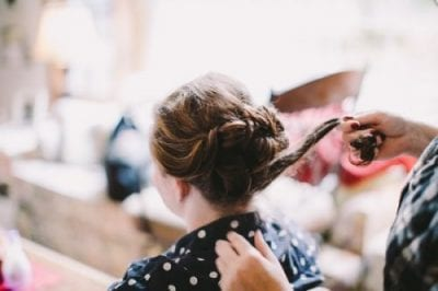Spokane Makeup Artist Wedding Hair