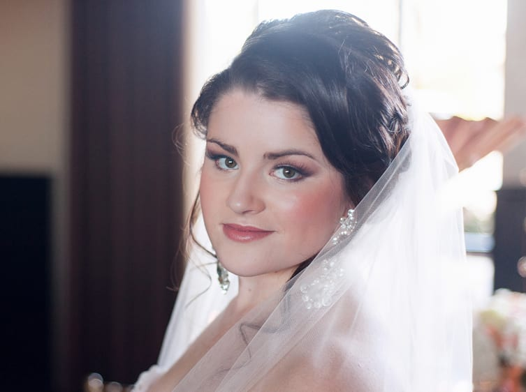 Airbrushed wedding makeup Spokane