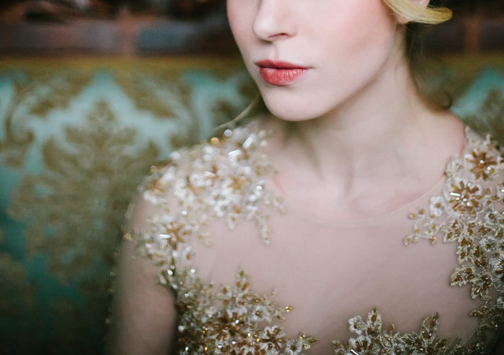 elegant vintage wedding makeup