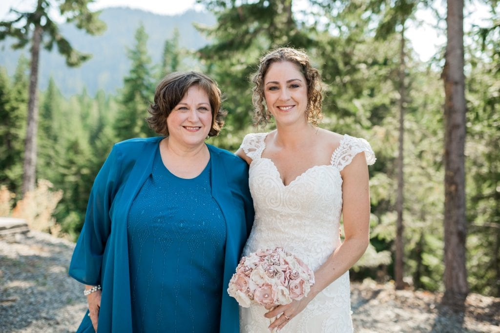 Mature Makeup Snoqualmie wedding