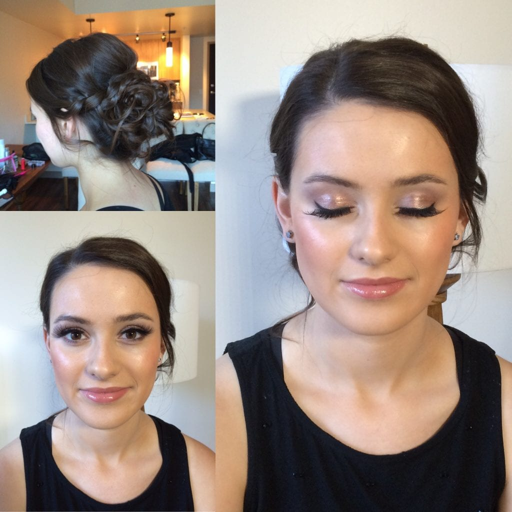 Seattle Bride Hair and makeup