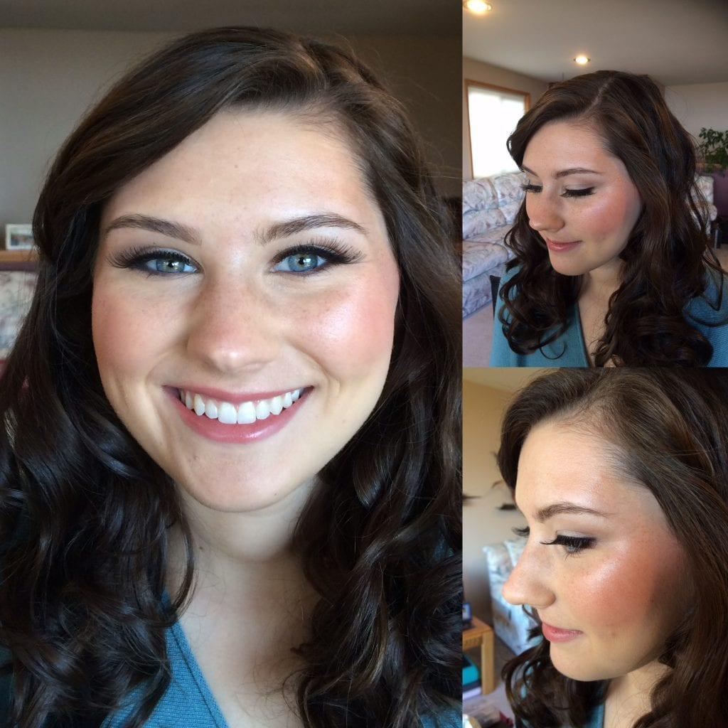 Tacoma Bride hair and makeup