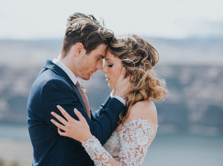 coeur d'Alene wedding makeup and hair