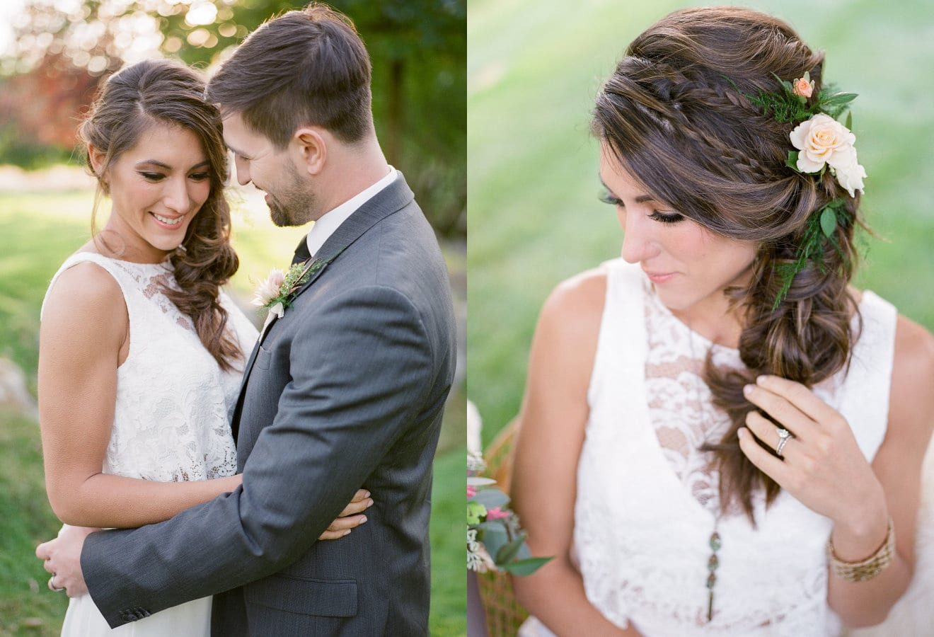 Beacon Hill Wedding Makeup and Hair