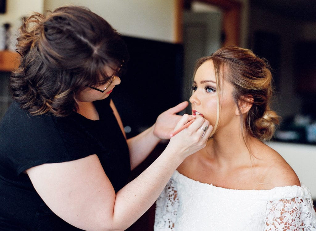 destination wedding makeup artist Idaho