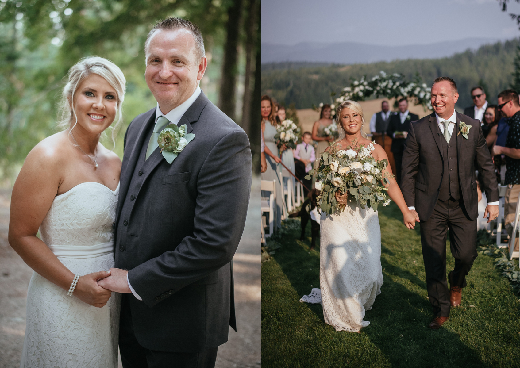 glowy makeup bride married at sandpoint ranch