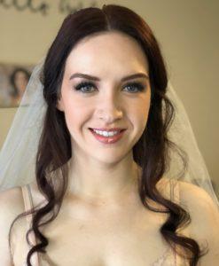 davenport wedding bridal trial makeup